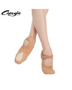 Ballettschläppchen aus Leinen Cobra von Capezio